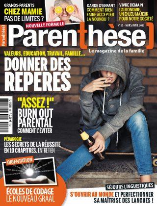 Parenthèse <br> n°55 &#8211; Mars/Avril 2017