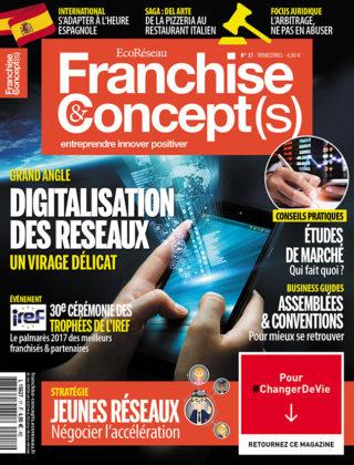 Franchise &#038; Concept(s) <br> n°17 &#8211; Déc./Janv./Fév. 2018